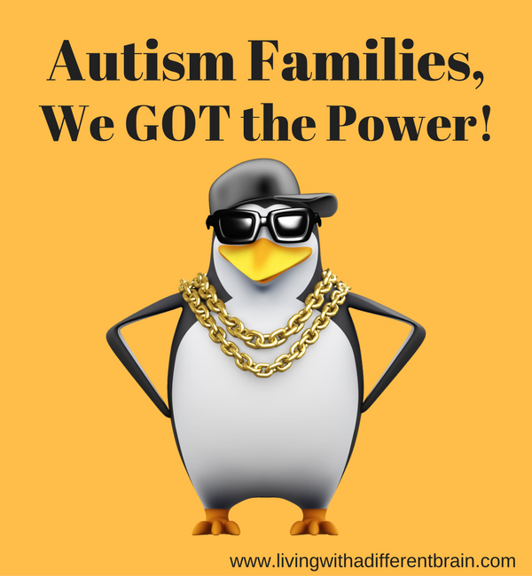 POWER Poses for All Autism Families!