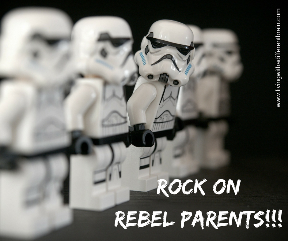 We Are Parent Advocates, also known as REBELS!