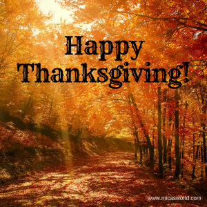 Happy Thanksgiving to You and Yours!